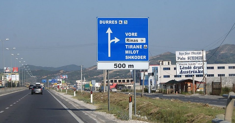 voce aquila albania autostrada pedaggio