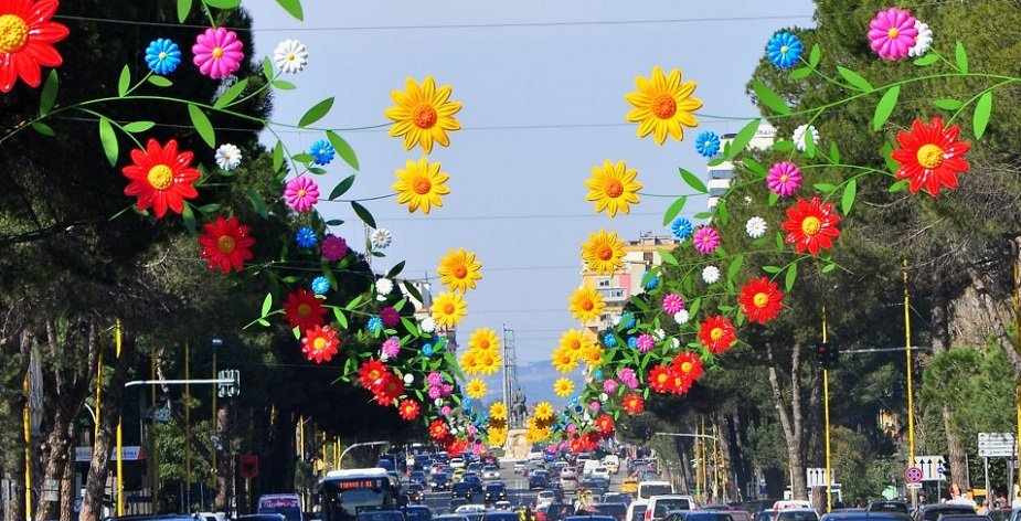 voce aquila albania festa primavera