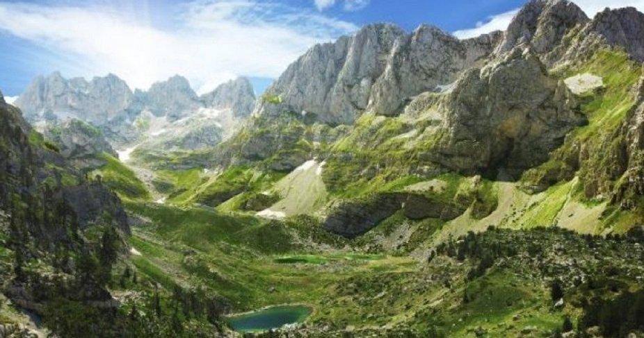 visitare le alpi albanesi