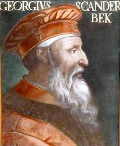 giorgio castriota scanderbeg
