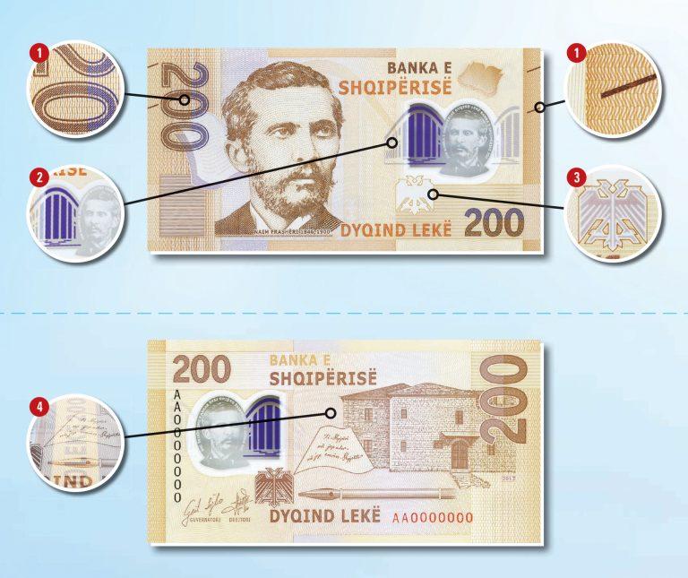 nuova moneta 200 leke albania